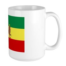 Lion of Judah Ethopian Flag Large Mug