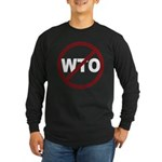 NO WTO Long Sleeve Dark T-Shirt