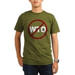 NO WTO Organic Men's T-Shirt (dark)