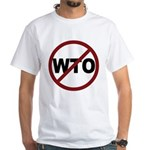 NO WTO White T-Shirt