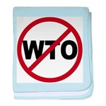 NO WTO baby blanket