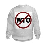 NO WTO Kids Sweatshirt