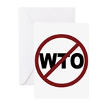NO WTO Greeting Cards (Pk of 10)