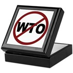 NO WTO Keepsake Box