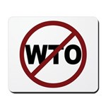 NO WTO Mousepad
