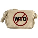 NO WTO Messenger Bag