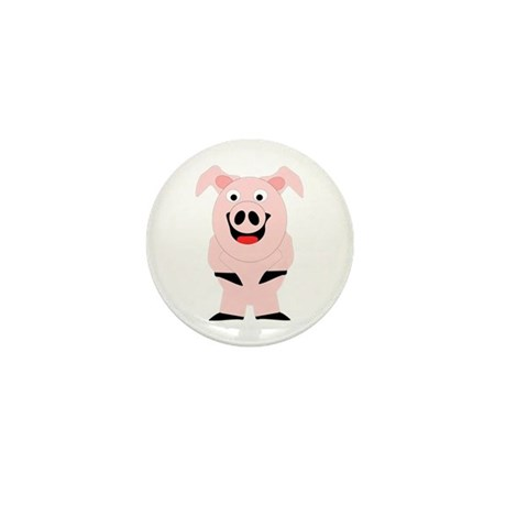 Pig Design Mini Button