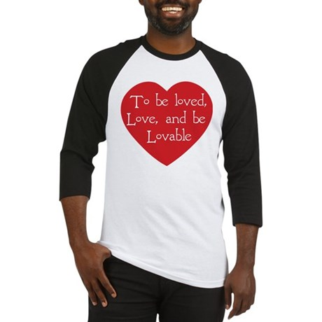Love and be Lovable Men's Baseball Jersey