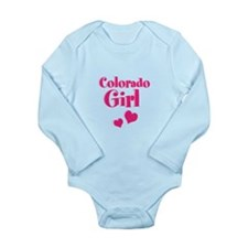 Colorado Girl Long Sleeve Infant Bodysuit