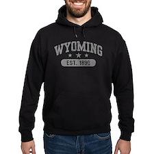 Wyoming Est. 1890 Hoodie