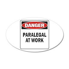 Paralegal 22x14 Oval Wall Peel