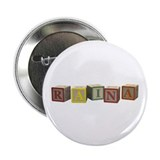 "Raina Alphabet Blocks 2.25"" Button (10 pack)"
