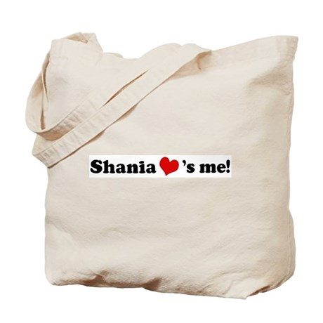Shania loves me Tote Bag