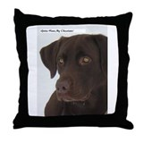 Gotta have my Chocolate.Throw Pillow