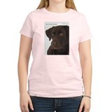 Gotta have my Chocolate. Women's Pink T-Shirt