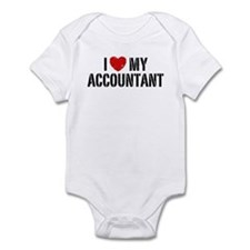 I Love My Accountant Infant Bodysuit
