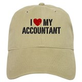 I Love My Accountant Baseball Cap