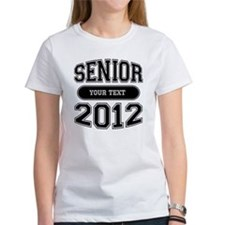 Customizable Senior 2012 Tee