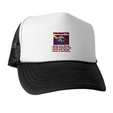 Promote 50/50 World Red Trucker Hat