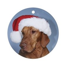Hungarian Vizsla Christmas Ornament (Rogan)