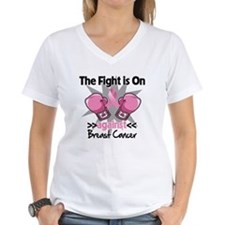 Fight is On Breast Cancer Shirt
