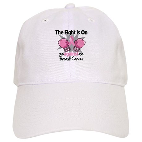 Fight is On Breast Cancer Cap