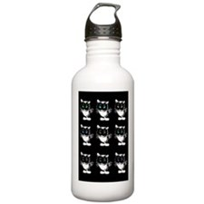 Bright Eyed Cats Water Bottle