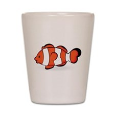 Clown Fish Shot Glass