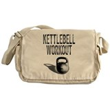 Kettlebell Workout Messenger Bag