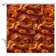 BACON!!!! Shower Curtain
