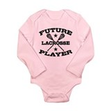 Future Lacrosse Player Long Sleeve Infant Bodysuit