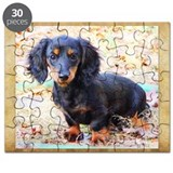 Puppy Love Doxie Puzzle