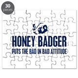 Honey Badger Characteristics Puzzle