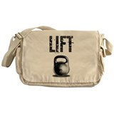 Kettlebell LIFT Messenger Bag