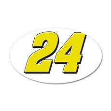 JG24 22x14 Oval Wall Peel