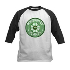 Powered By Plants Badge Tee