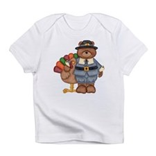 Thanksgiving Bear Infant T-Shirt