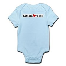 Leticia loves me Infant Creeper
