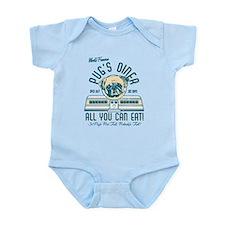 Pug's Diner Infant Bodysuit