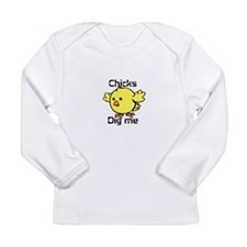 Unique Dig Long Sleeve Infant T-Shirt