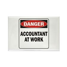 Accountant Rectangle Magnet (100 pack)