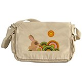 """Woodland Bunny"" Messenger Bag"