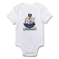 Ahoy Matey Pirate Infant Bodysuit