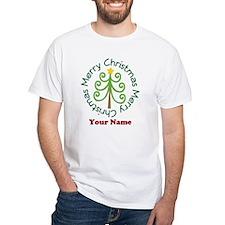 Personalized Christmas Tree Shirt