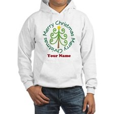 Personalized Christmas Tree Hoodie