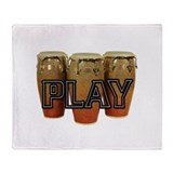 PLAY- CONGAS Throw Blanket