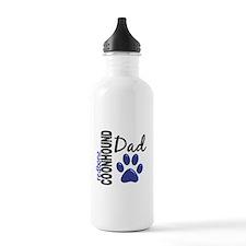 Redbone Coonhound Dad 2 Water Bottle
