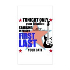 Music Poster Decal