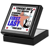 Music Poster Keepsake Box