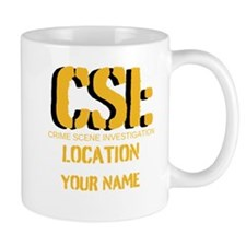 Customizable CSI Mug